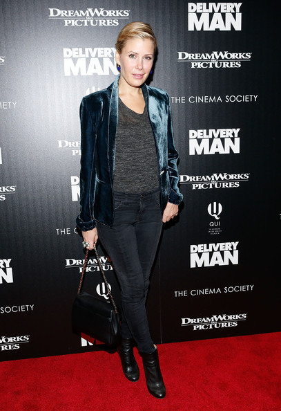 Tara Subkoff Ankle Boots [clothing,carpet,premiere,fashion,outerwear,red carpet,footwear,suit,jacket,event,arrivals,tara subkoff,delivery man,screening,new york city,dreamworks pictures and the cinema society host a screening of ``delivery man,dreamworks pictures,the cinema society,paley center for media]