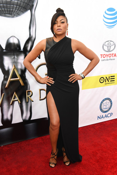 Taraji P. Henson Form-Fitting Dress