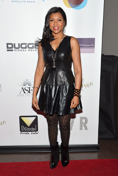 Taraji P. Henson Mini Skirt