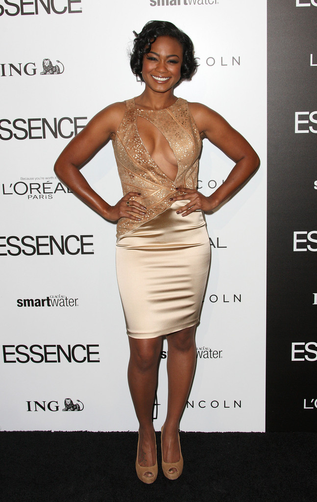 Tatyana Ali Cutout Dress Tatyana Ali Looks Stylebistro