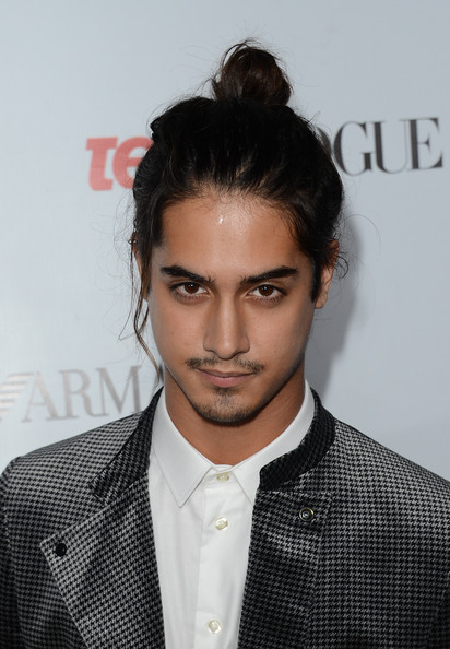 Avan Jogia rocked a topknot at Teen Vogue's Young Hollywood Party.