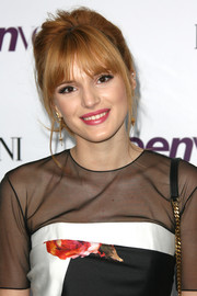 Bella Thorne looked gorgeous at the Teen Vogue Young Hollywood party with her messy-glam ponytail.