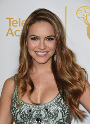 Chrishell Stause looked gorgeous with her flowing waves at the Daytime Emmy nominees celebration.