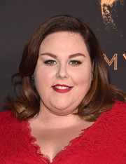 Chrissy Metz looked sweet with her side-parted waves at the Television Academy's performers peer group celebration.