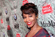 Anika Noni Rose rocked a sculpted fauxhawk at the Women in Film pre-Oscar cocktail party.