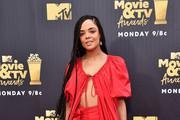 Tessa Thompson Fur Purse