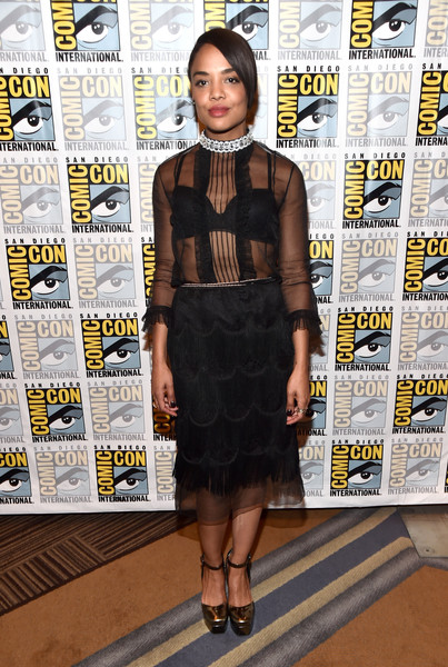 Tessa Thompson Platform Pumps