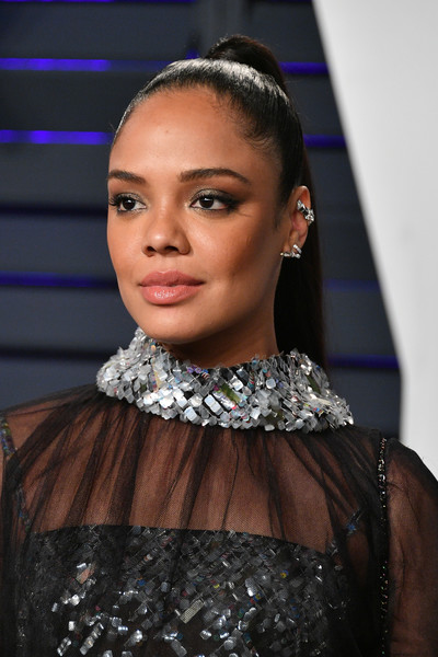Tessa Thompson Ponytail