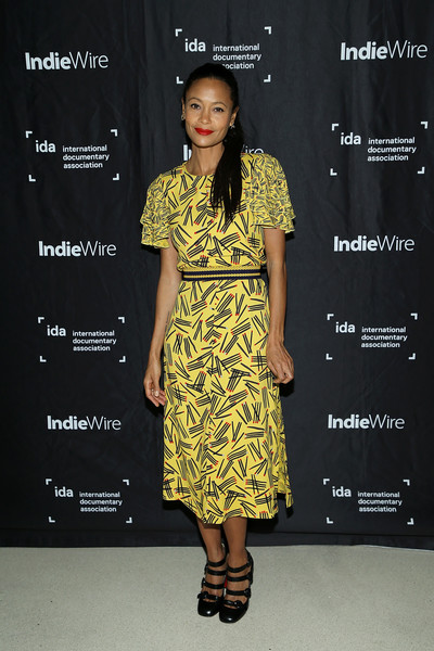 Thandiwe Newton Print Dress [clothing,fashion model,yellow,fashion,dress,fashion design,footwear,cocktail dress,premiere,fashion show,cocktail dress,thandie newton,screening,fashion,clothing,yellow,red carpet,los angeles,los angeles special screening of ``liyana,fashion show,fashion,fashion show,red carpet,cocktail dress,yellow,carpet,clothing,model,dos gardenias stein square neck bralette bikini top,red]