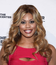 Laverne Cox showed off a super-sweet curly 'do at the 2015 Center Dinner.