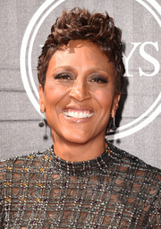 Robin Roberts made an appearance at the ESPYs wearing cool short curls.