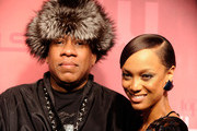 Andre Leon Talley and Tyra Banks Photo
