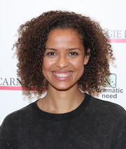 Gugu Mbatha-Raw attended the Children's Monologues event wearing her natural curls.