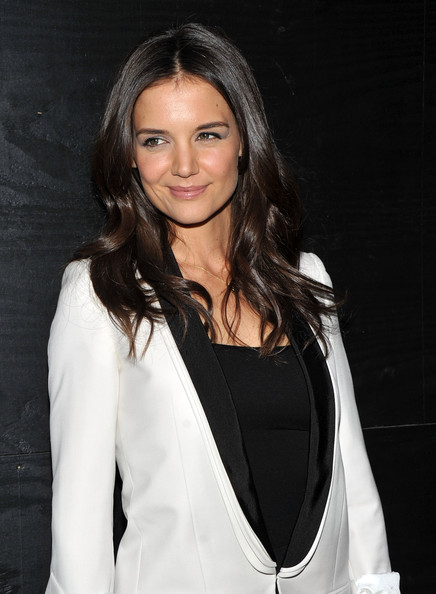 More Pics of Katie Holmes Long Wavy Cut (1 of 8) - Long Hairstyles Lookbook - StyleBistro [the decision,hair,hairstyle,beauty,long hair,blazer,outerwear,fashion model,formal wear,suit,layered hair,katie holmes,new york,lavo nyc,premiere]