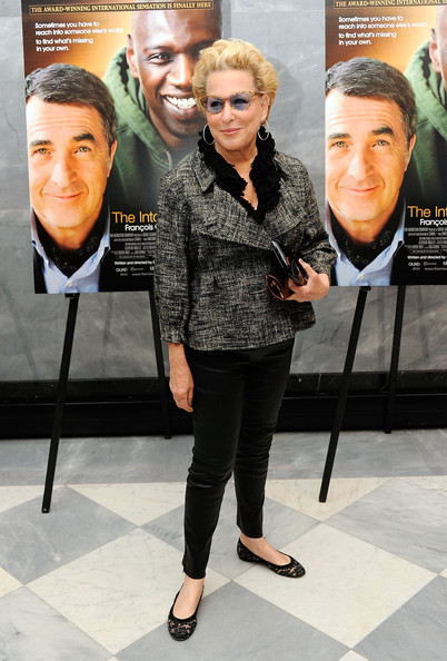 More Pics of Bette Midler Short Curls (1 of 4) - Short Hairstyles Lookbook - StyleBistro [the intouchables screening,eyewear,fashion,footwear,premiere,outerwear,event,street fashion,shoe,fashion design,jacket,bette midler,the paley center for media,new york city,screening]