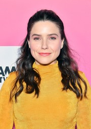 Sophia Bush looked pretty with her half-up waves at TheWrap's Power Women Summit 2019.