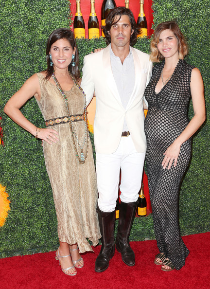 Nacho Figueras was quite the horseman in his immaculate white tux and brown riding boots.