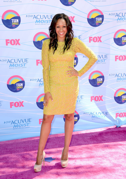Tia Mowry Corset Dress