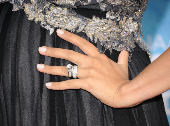 Tia Mowry Diamond Ring