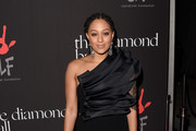 Tia Mowry One Shoulder Dress