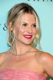 Ali Larter capped off her look with a sexy loose ponytail when she attended the unveiling of Tiffany & Co.'s renovated Beverly Hills store.