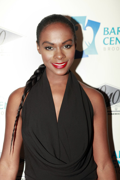 Tika Sumpter Long Braided Hairstyle