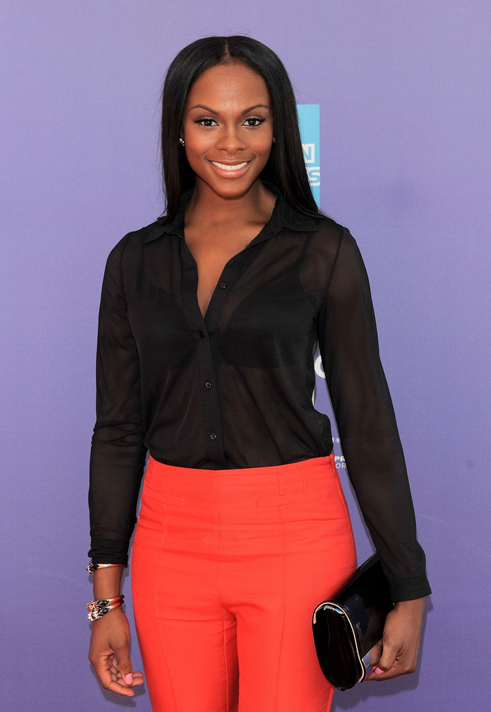 Tika Sumpter Button Down Shirt Tika Sumpter Looks