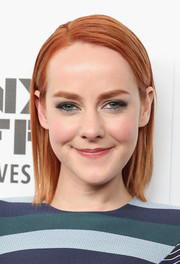 Jena Malone sported a side-parted straight cut at the premiere of 'Time Out of Mind.'