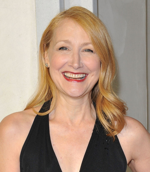More Pics of Patricia Clarkson Medium Wavy Cut (1 of 10) - Medium Wavy Cut Lookbook - StyleBistro