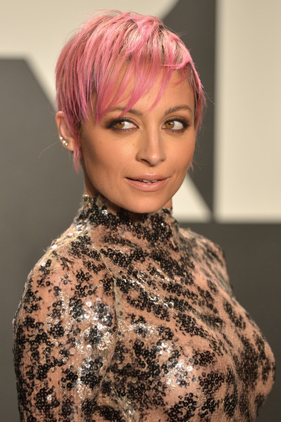Nicole Richie S Bubblegum Pink Pixie Celebrity Hair Cuts