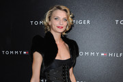 Actress Sarah Marshall attends the Tommy Hilfiger Champs Elysee flagship opening on November 17, 2010 in Paris, France.