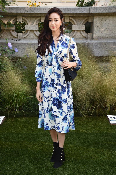 Kim Sa Rang at Tory Burch