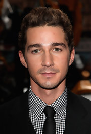 Shia LaBeouf wore his hair in a short wavy cut, a la James Dean, at the 'Transformers: Revenge of the Fallen' premiere.