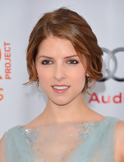 Anna pulled her serene milky-brown waves back into a beautiful low bun for the '2012 Trevor Live' event.