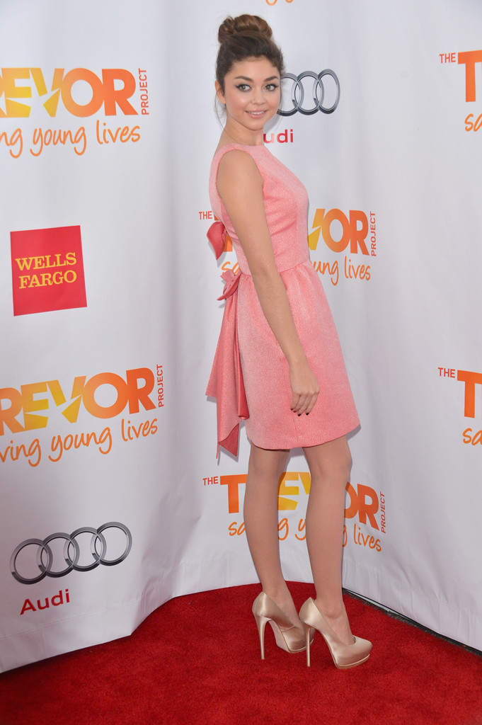 Sarah hyland at the trevor project s trevor live event getty images