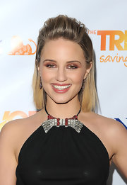 Dianna Agron wore shimmery metallic copper shadow at The Trevor Project's 2011 Trevor Live!.