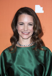 Kristin Davis framed her face with a sweet wavy 'do for the 2017 TrevorLIVE LA Gala.