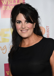 Monica Lewinsky attended the TrevorLIVE LA event rocking a messy half-up 'do.