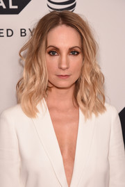 Joanne Froggatt looked stylish with her tousled waves at the Tribeca TV Festival premiere of 'Liar.'