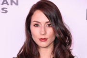 Troian Bellisario Medium Wavy Cut