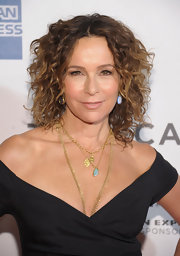 Jennifer Grey's curled-out bob at the 'Trust Me' premiere was reminiscent of her 'Dirty Dancing' hairstyle.