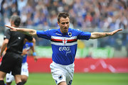Italian soccer star Antonio Cassano has a large sun tattooed to his left forearm.