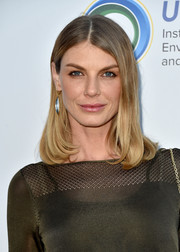 Angela Lindvall kept it classic with this mid-length bob at the Innovators for a Healthy Planet event.