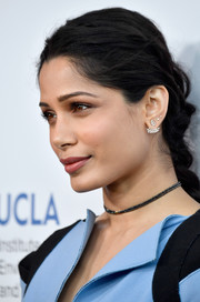Freida Pinto looked darling wearing this braid at the Innovators for a Healthy Planet event.