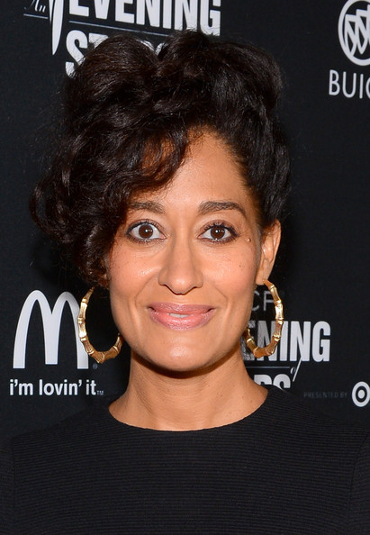 More Pics of Tracee Ellis Ross Bobby Pinned Updo (1 of 6) - Tracee Ellis Ross Lookbook - StyleBistro