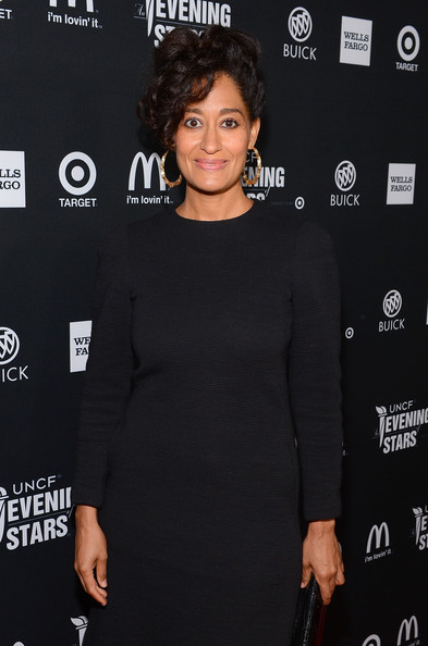 More Pics of Tracee Ellis Ross Bobby Pinned Updo (2 of 6) - Tracee Ellis Ross Lookbook - StyleBistro