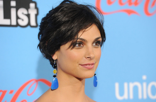 More Pics of Morena Baccarin Peep Toe Pumps (3 of 21) - Morena Baccarin Lookbook - StyleBistro
