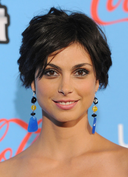 More Pics of Morena Baccarin Peep Toe Pumps (2 of 21) - Morena Baccarin Lookbook - StyleBistro