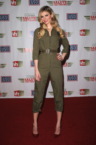 More Pics of Marisa Miller Jumpsuit (1 of 14) - Marisa Miller Lookbook - StyleBistro