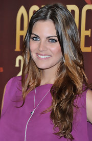 Amaia Salamanca looked fabulous with her curled ombre locks at the 2010 Union de Actores Awards.